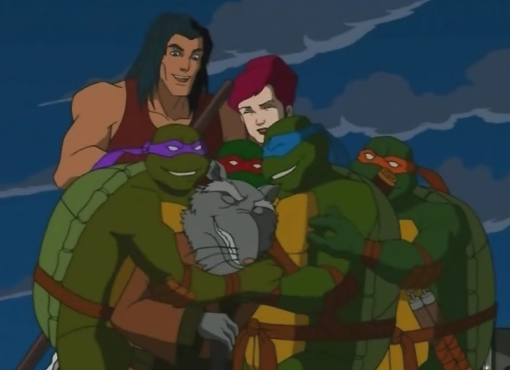 My fave TMNT moments... Family11