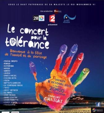 7ème édition du Concert pour la tolérance: Les valeurs universelles en fête à Agadir  1-1aat10
