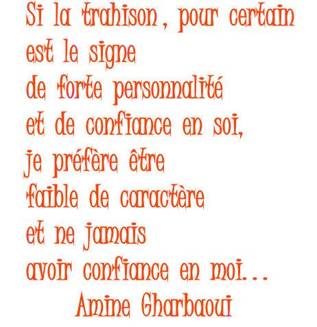 Trahison Citation