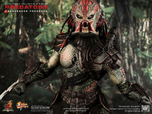 1/6  HOT TOYS-BERSERKER PREDADATOR 16_hot14