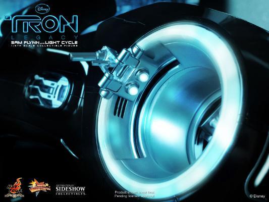 1/6 HOT TOYS-TRON LEGACY SAM FLYNN W LIGHT CYCLE 16_hot33
