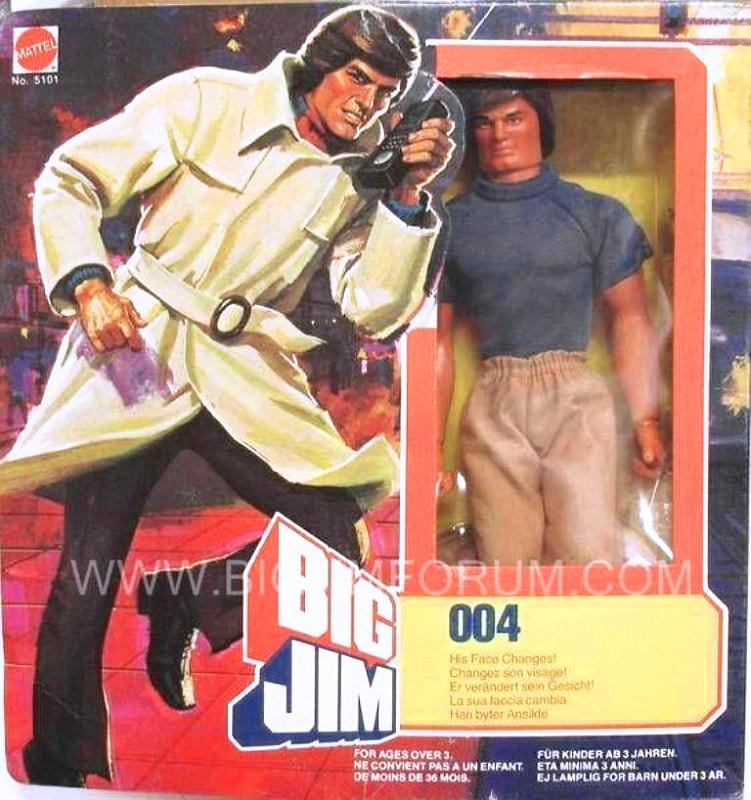 big jim anni 80 Box20110