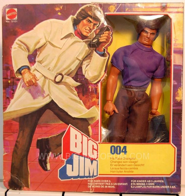 ricerca big jim 007 anni 80 Box20210