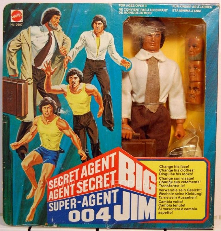 big jim anni 80 Box20410