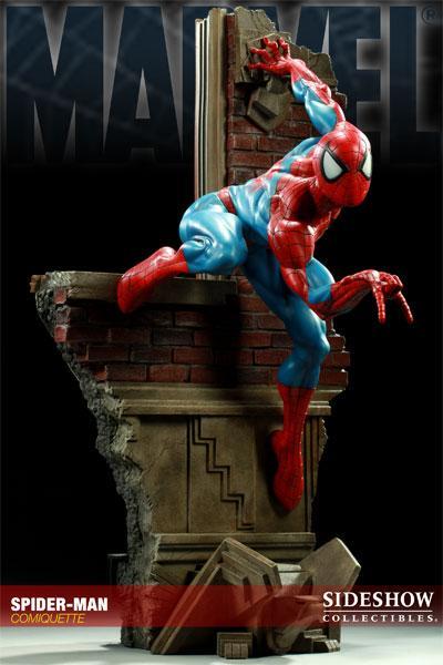 MARVEL COMIQUETTE  SPIDER-MAN STATUE Marvel10