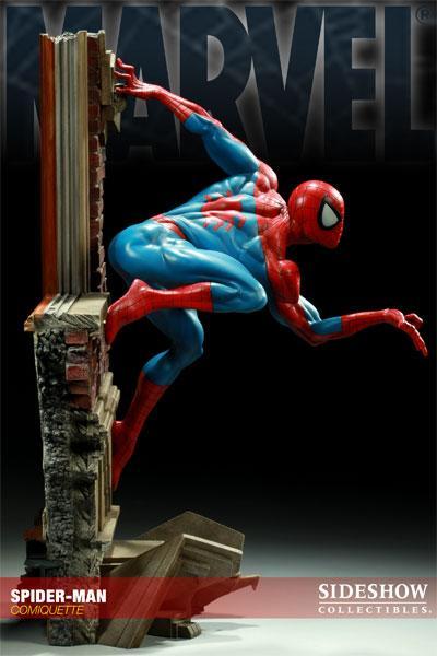 MARVEL COMIQUETTE  SPIDER-MAN STATUE Marvel12