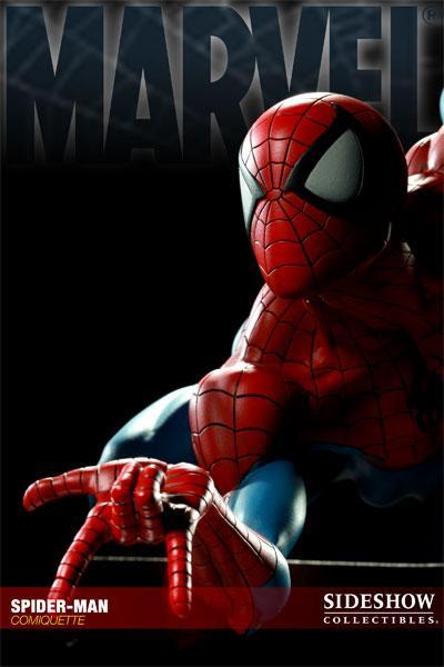 MARVEL COMIQUETTE  SPIDER-MAN STATUE Marvel16