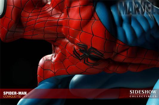 MARVEL COMIQUETTE  SPIDER-MAN STATUE Marvel18