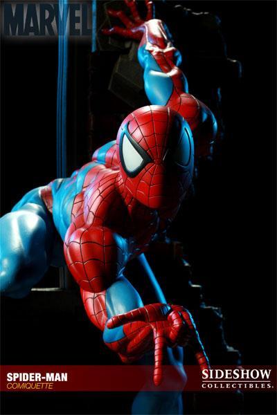 MARVEL COMIQUETTE  SPIDER-MAN STATUE Marvel19