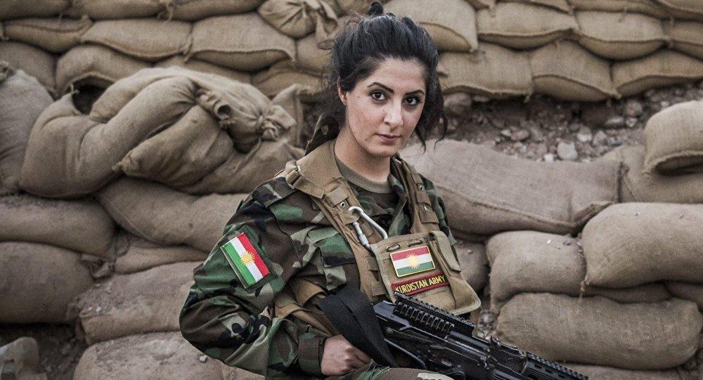 Joanna Palani, une citoyenne danoise d'origine kurde, risque d'être condamnée à six mois de prison ferme , alors qu'elle luttait contre Daech en Irak. 10193911