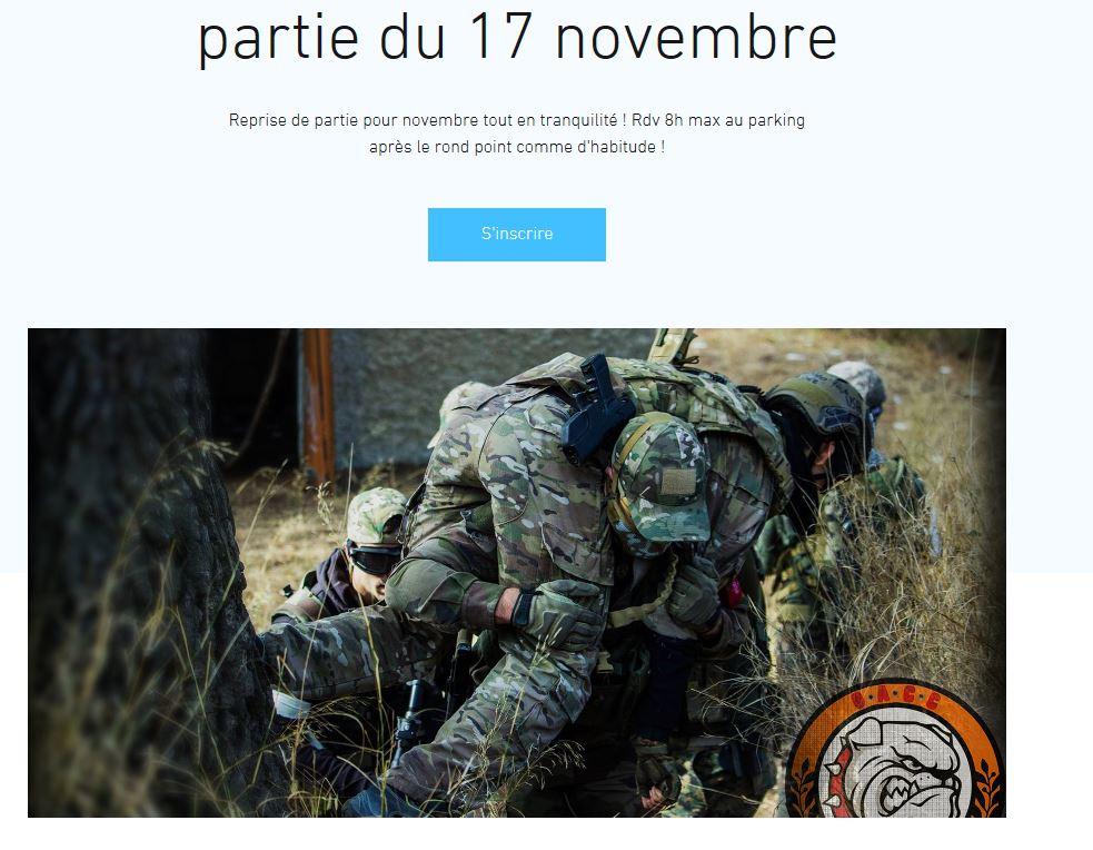 partie d'airsoft le 17 novembre de la GACC Captur10