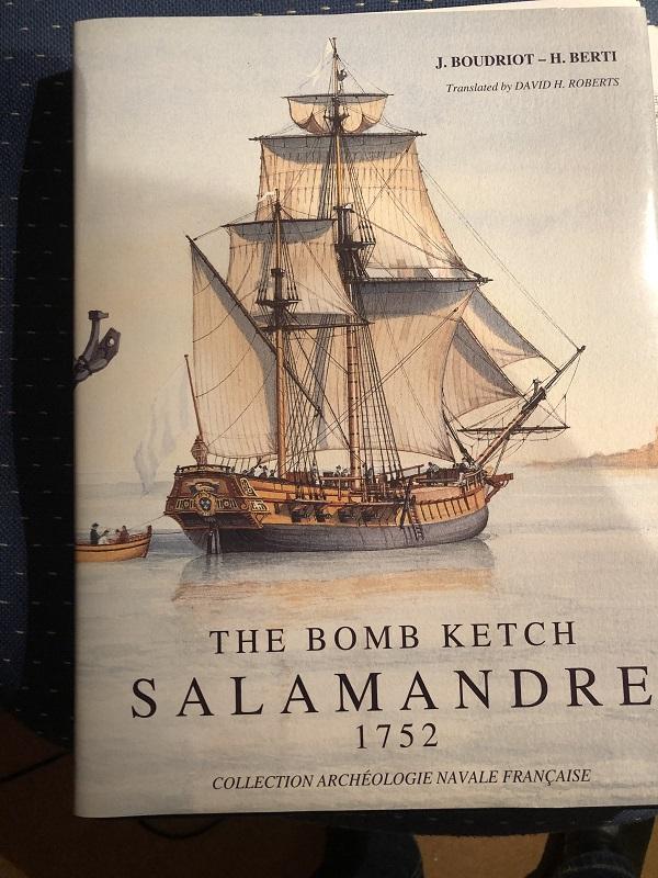 Le Salamandre, Bomb Ketch von 1752 0112