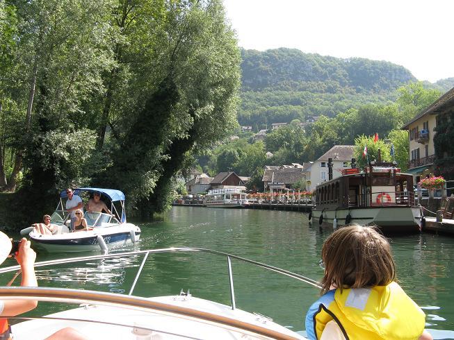 Promenade en bateau sur le lac du bourget (73) 00314