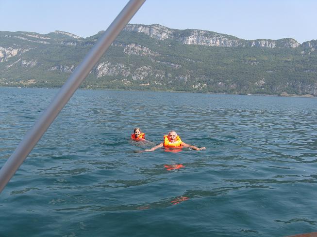Promenade en bateau sur le lac du bourget (73) 01910