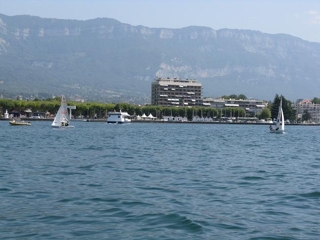 Promenade en bateau sur le lac du bourget (73) 03110