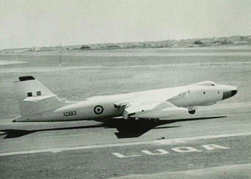 RAF based or visiting Malta post war V610