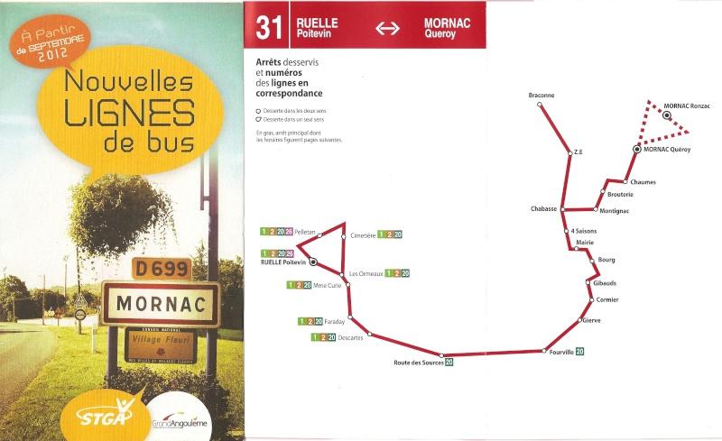 Une nouvelle ligne de bus vers Mornac Bus-110