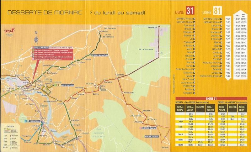 Une nouvelle ligne de bus vers Mornac Bus210