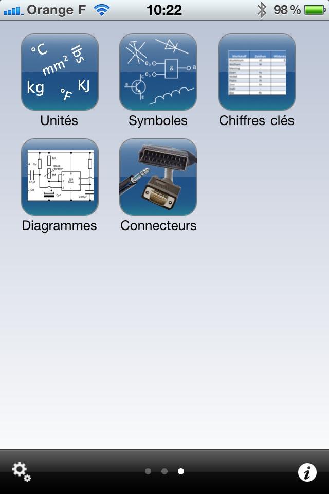 Electronic Toolbox Elektor sur iPhone Elekto13