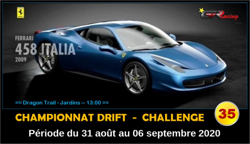 Challenge 35 - période du 31 août au 06 septembre 2020 147