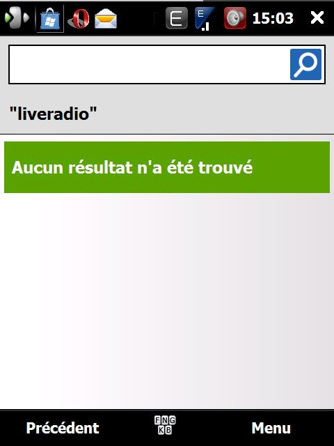 LIVERADIO ORANGE - La radio par Orange Screen15