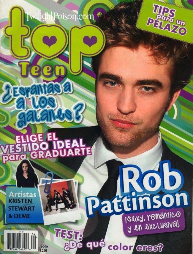 """Robert Pattinson : """"Je me moque du physique"""" Twilig12"""