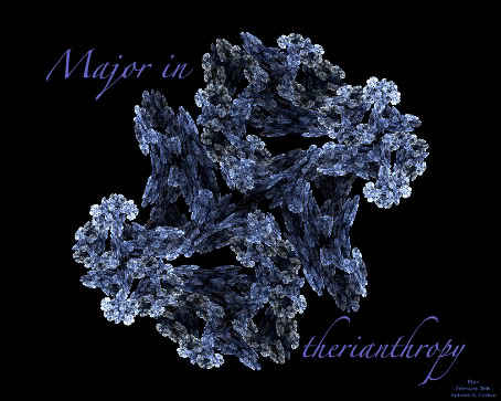 Major In Therianthropy Blue_b10