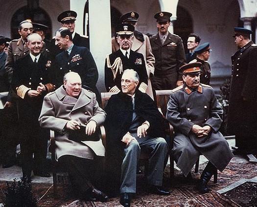 Traités, Pacte,accord,conférences et chartes Yalta_10