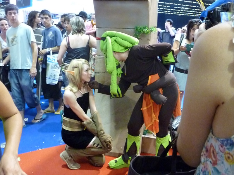 Japan Expo 2010-Cosplay Ankama! P1000913