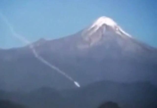 Ovni se estrella cerca de montaña de China 2210
