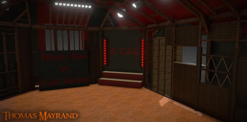 Débat DEUXIÈME PARTIE DE SOIRÉE - Fort Boyard 2020 Cage_310