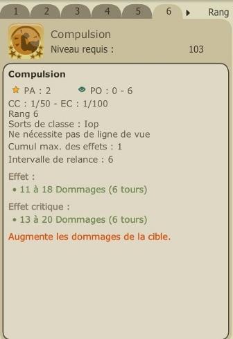 Mise à jour 2.8 et refonte du Iop Compul11