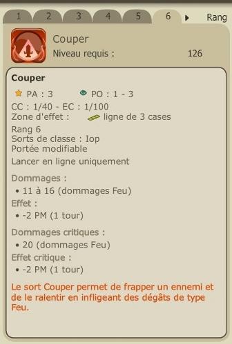 Mise à jour 2.8 et refonte du Iop Couper11