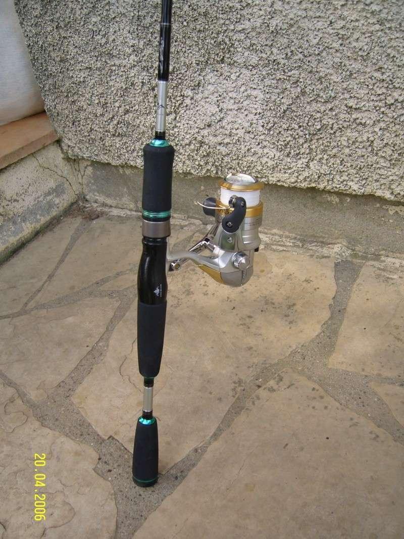 Spinning Daiwa Exceler 7-21grs + moulinet Shimano Exage 2500      (VENDU) Snc12412