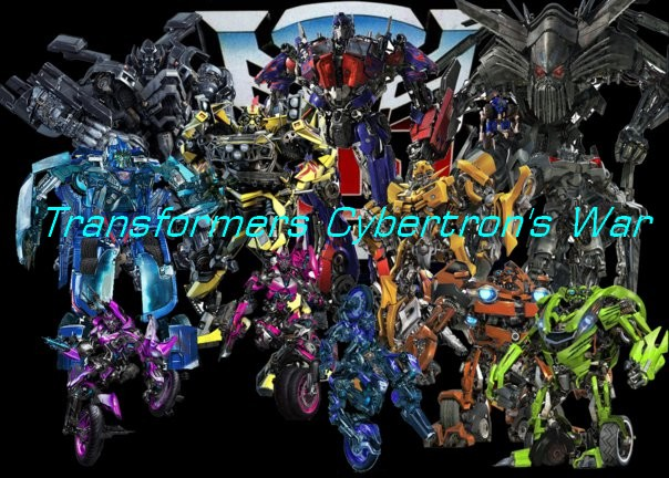 TRANSFORMERS  CYBERTRON'S WAR