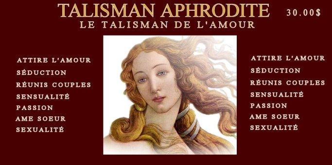 NOUVEAU! TALISMAN APHRODITE! Talism11