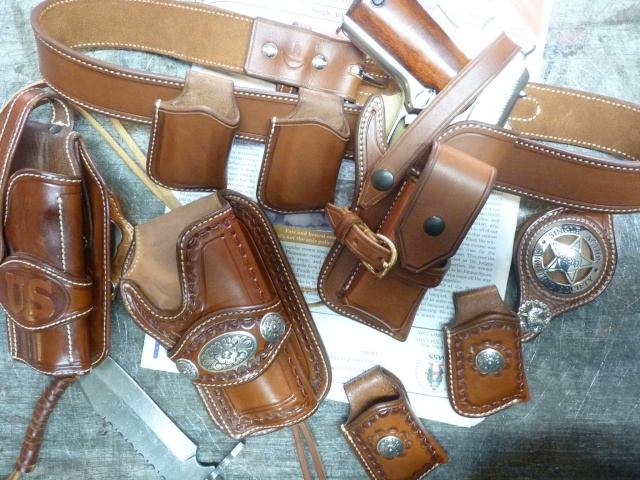 "Des HOLSTERS ""WILD BUNCH"" by SLYE P1070711"