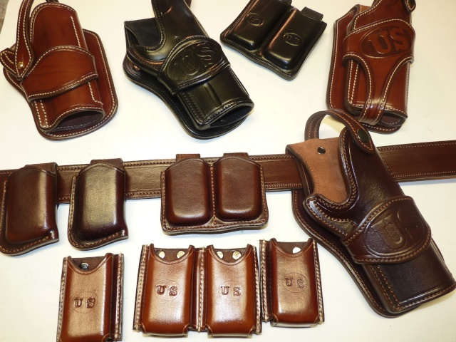 "Des HOLSTERS ""WILD BUNCH"" by SLYE P1080612"