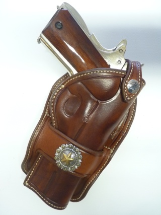 """HOLSTER """"PECKINPAH"""" pour 1911 """"WILD BUNCH """" by SLYE P1100020"""