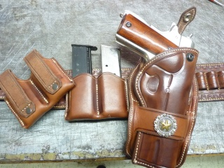 """HOLSTER """"PECKINPAH"""" pour 1911 """"WILD BUNCH """" by SLYE P1100026"""
