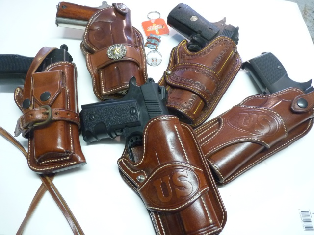 """HOLSTER """"PECKINPAH"""" pour 1911 """"WILD BUNCH """" by SLYE P1100029"""