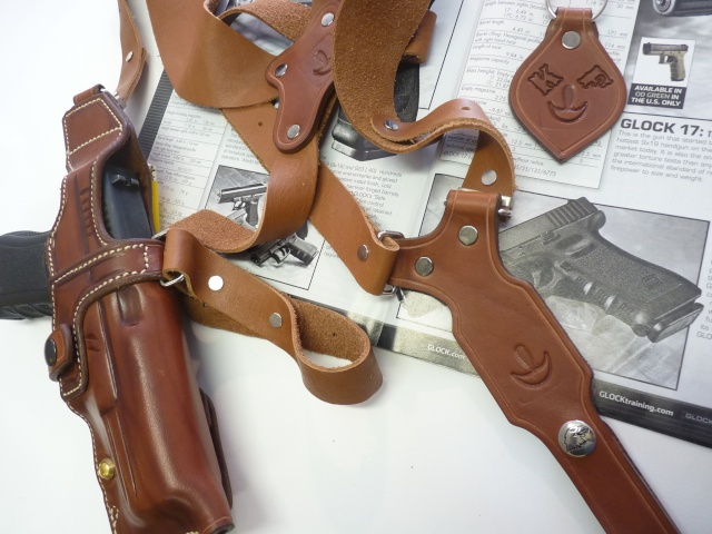 """HOLSTER d'AISSELLE """"Le TRADITIONAL"""" by SLYE P1100030"""