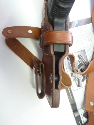 """HOLSTER d'AISSELLE """"Le TRADITIONAL"""" by SLYE P1100031"""