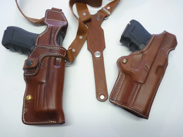 """HOLSTER d'AISSELLE """"Le TRADITIONAL"""" by SLYE P1100034"""