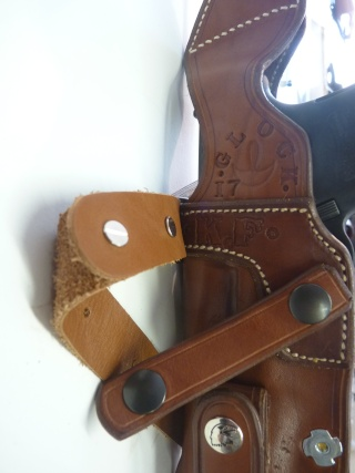 """HOLSTER d'AISSELLE """"Le TRADITIONAL"""" by SLYE P1100035"""