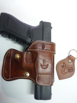"HOLSTER AMBIDEXTRE : le ""PRACTIC"" by SLYE P1100036"