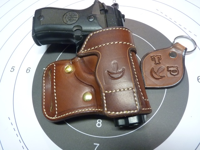 "HOLSTER AMBIDEXTRE : le ""PRACTIC"" by SLYE P1100414"