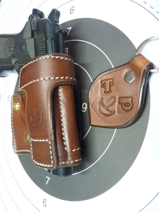"HOLSTER AMBIDEXTRE : le ""PRACTIC"" by SLYE P1100415"