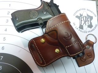 "HOLSTER AMBIDEXTRE : le ""PRACTIC"" by SLYE P1100416"
