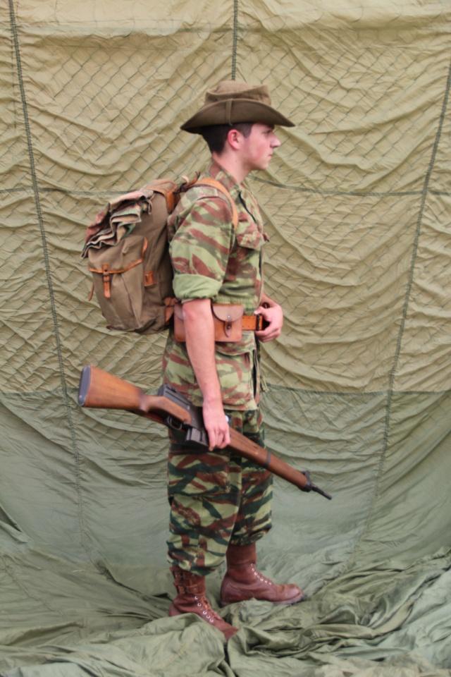 Légionnaire et léopards.. Img_0911